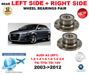 For Audi A3 Rear Wheel Bearing 2003-2012 1.2 1.4 1.6  1.8 1.9 2.0 Left & Right  inexpensive