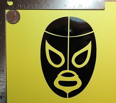 Mil Mascaras Lucha libre Mexican wrestling mask die cut vinyl decal stick 3 size