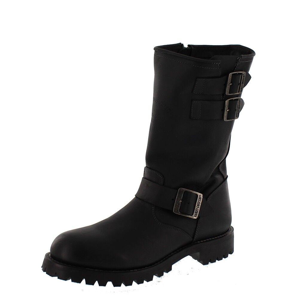 HARLEY DAVIDSON HOMBRE - botas 11´ INGENIERO - negro