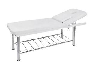 table de massage metal kine esthetique spa institut de beaute thalasso medical ebay. Black Bedroom Furniture Sets. Home Design Ideas