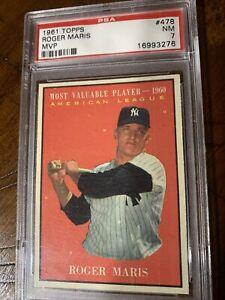 1961-Topps-Roger-Maris-MVP-PSA-NM-7-Card-478