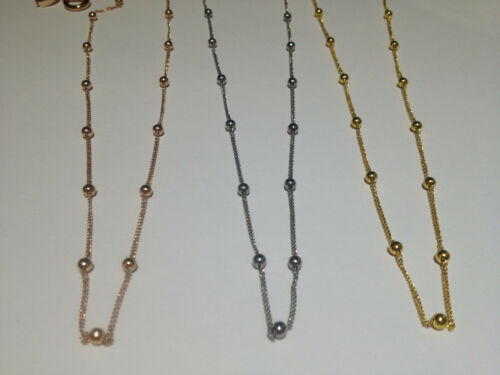 20 inch Stainless Steel Ball Station Chain yes Fit Origami Owl Living Locket