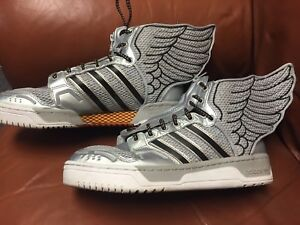Details about Adidas JEREMY SCOTT JS WINGS 2.0 NASA mid sneakers shoes Mens sz 9.5