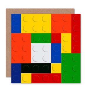 Coloured-Lego-Blocks-Birthday-Blank-Greeting-Card-With-Envelope