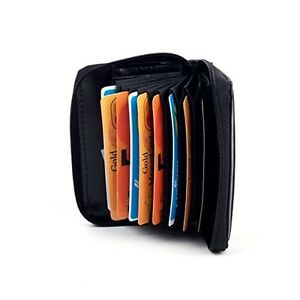 NEW-Leather-Concertina-Credit-Card-Wallet-Purse-1234