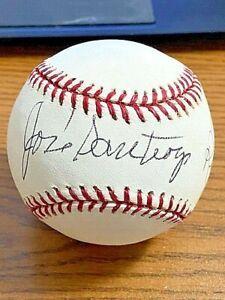 JOSE SANTIAGO 4 SIGNED AUTOGRAPHED OML BASEBALL!  Athletics, Red Sox!  1967 Sox!