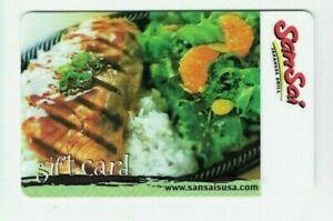 SanSai-Gift-Card-Japanese-Grill-Restaurant-No-Value-I-Combine-Shipping