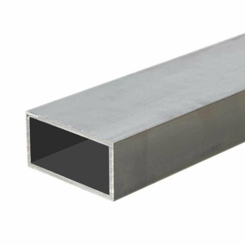 """1/"""" x 2/"""" x 0.125/"""" x 36/"""" long 6063-T52 Aluminum Rectangle Tube"""