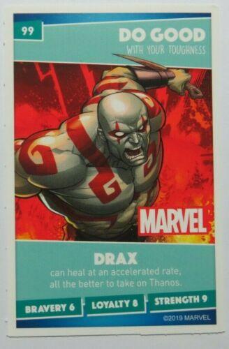 Select your card SAINSBURYS Disney Pixar Marvel HEROES Single Cards 2019