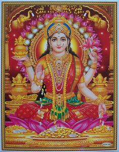 Laxmi-Lakshmi-Maa-Hindu-Money-Goddess-POSTER-Normal-Paper-Size-8-5-034-x11-034