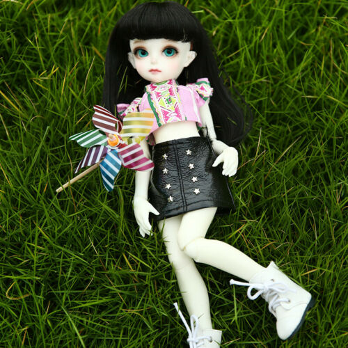 1//6 BJD Doll SD Doll Momocolor Emily Girl Free Face Make UP+Free Eyes