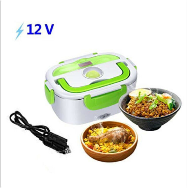 12V Portable Car SUV Electric Lunch Box Food Storage Container Heater Bento Box
