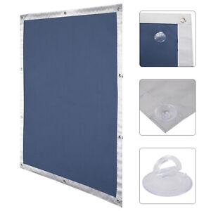 sonnenschutz dachfensterrollo uv schutz thermo fenster rollo saugnapf blausrwb02 ebay. Black Bedroom Furniture Sets. Home Design Ideas