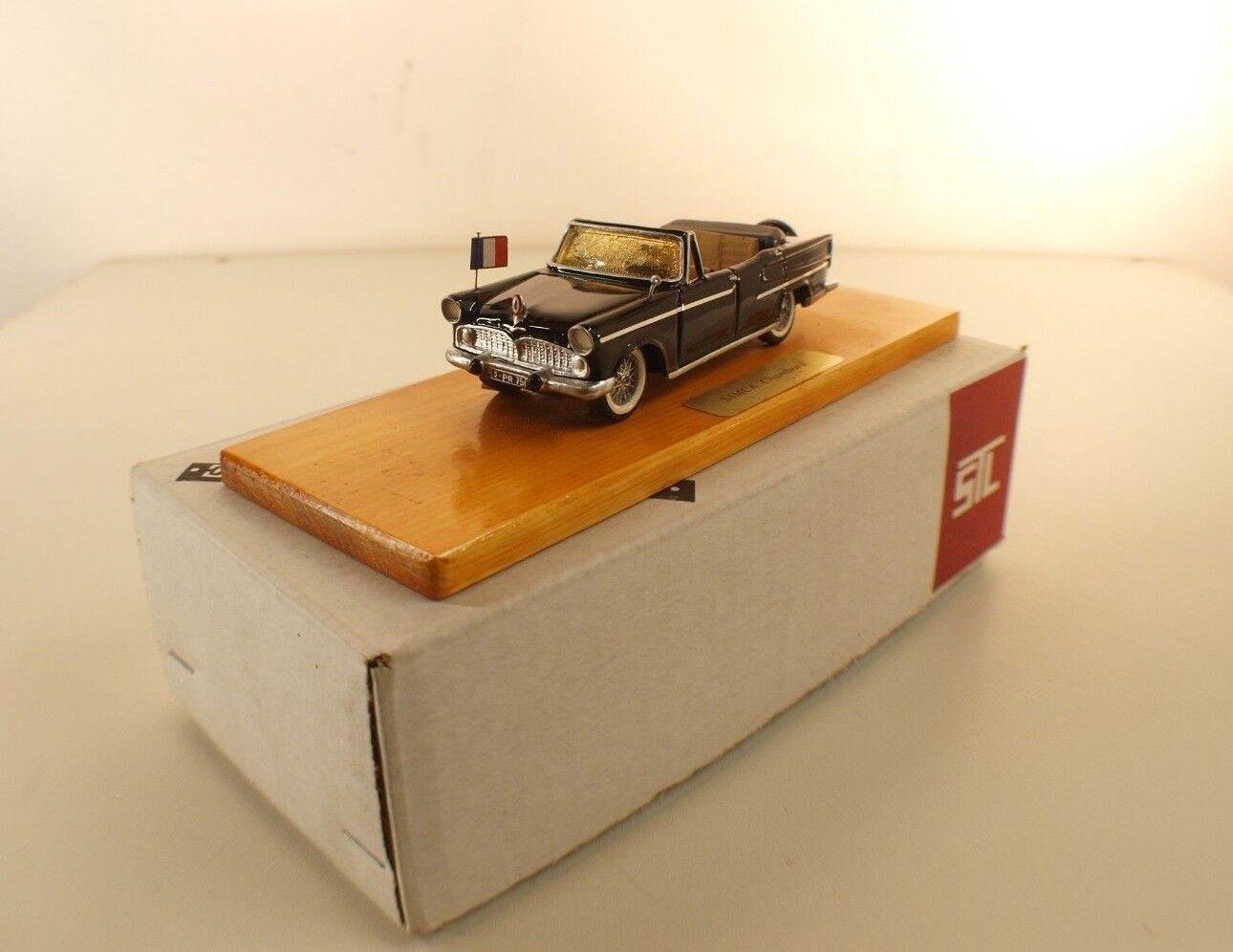 Stl. Frankreich Simca Chambord Cabriolet Présidentielle Harz 1 43 Serie Prestige
