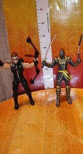 Clint-Barton-custom-figure-Lot-Ronin-Marvel-Hawkeye-avengers-comic-hero