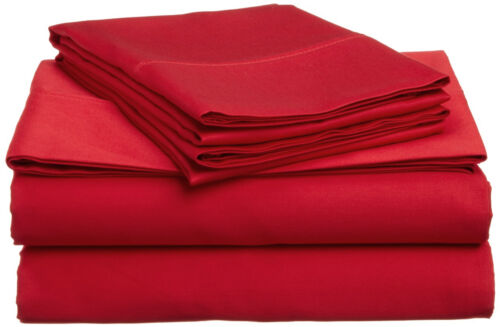 Bright Vivid Colors Twin or Full Size Microfiber Sheet Sets
