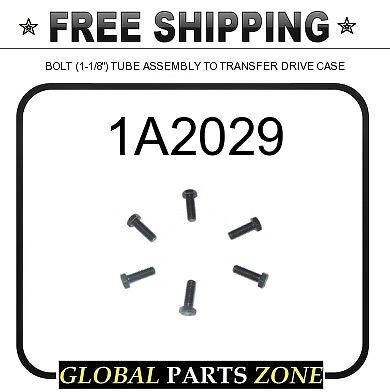 """BOLT TUBE ASSEMBLY TO TRANSFER DRIVE CASE 0S1590 4N0640 130888 1-1//8/"""" 1A2029"""
