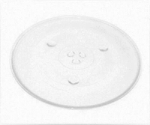 Universal microwave glass turntable 270mm with 6 pips spots
