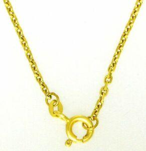 Feine-Damen-amp-Herren-Halskette-Ankerkette-585-Gold-14-Kt-Massiv-45-amp-50-amp-55-cm