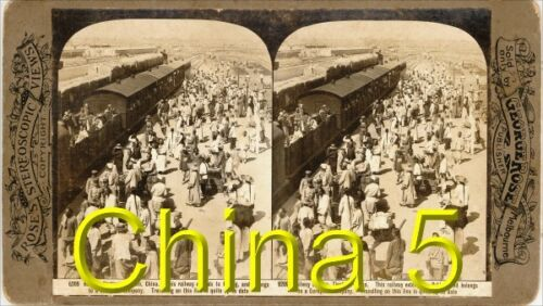 18 STEREOVIEWS CHINA PEKING Beijing 1900 Serie 5