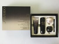 Shiseido Future Solution Lx 4 Piece Travel Set: Day, Night, Softener, & Cleanser