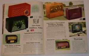 VINTAGE-1953-54-WESTERN-AUTO-RADIO-TV-SMALL-APPLIANCE-CATALOG-CLOCKS-TOASTERS