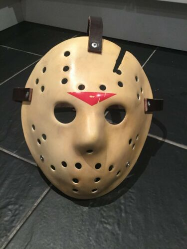 Custom JDF Jason Voorhees Friday the 13th Halloween Hockey Mask Made-to-order
