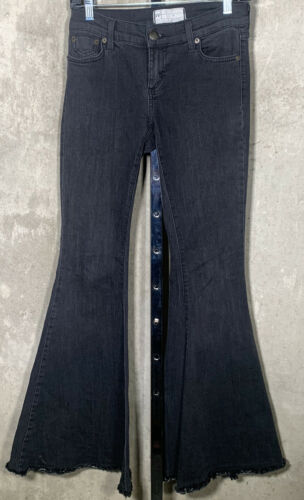 Free People Grey Super Flare Bell Bottoms Sz.26