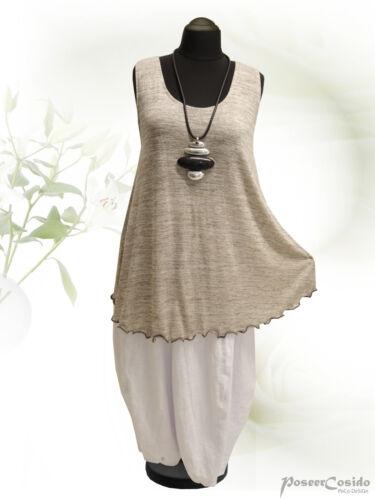 PoCo DeSiGn LAGENLOOK Top Tunika Long-Shirt XL-XXL-XXXL 44 46 48 50 52 54 56 58