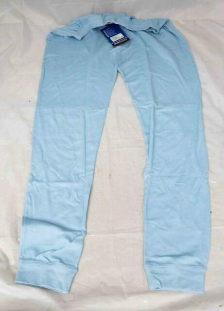 Portwest B121 Mens Easywear Base Thermal Trousers Sky Blue Size Large