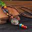 Lange-Halskette-Nepal-Boho-Anhaenger-Retro-Vintage-Holz-Handgefertigt-Perlen Indexbild 10