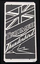 "cache / Grille de radiateur Triumph Thunderbird ""Union Jack"" + grillage alu"