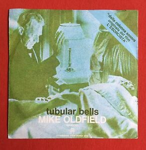 MIKE-OLDFIELD-Tubular-Bells-Rare-Italian-7-034-with-unique-039-Exorcist-039-Sleeve