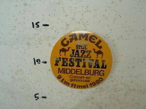 STICKER-DECAL-CAMEL-OLD-JAZZ-FESTIVAL-MIDDELBURG-MEI-1980-KAMEEL-A
