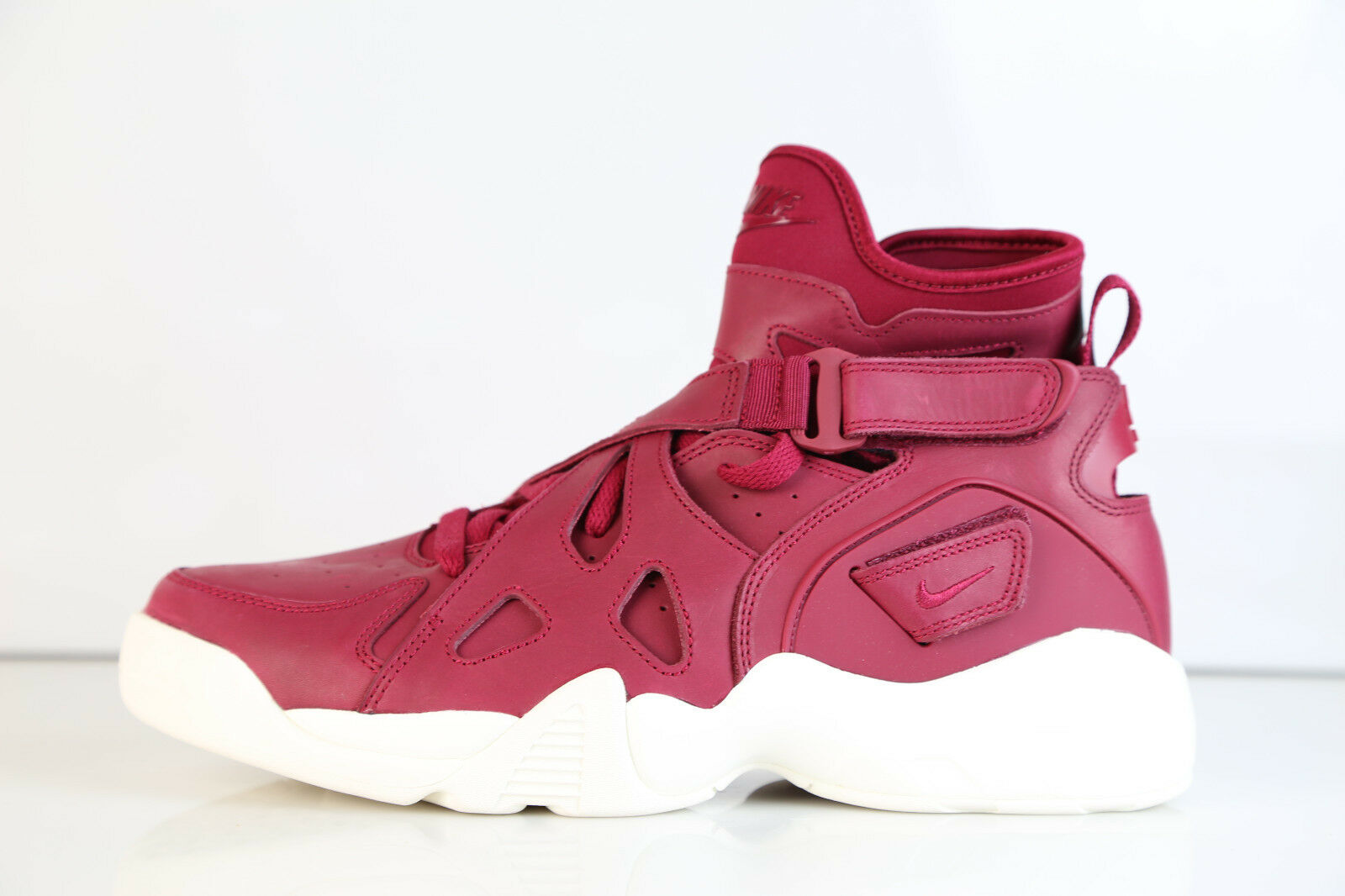 Nike Air Unlimited Noble Red Sail 854318-661 8-12 zoom 9 11 huarache