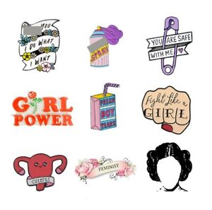 Feminist-Enamel-Pin-Girl-Power-Women-Judge-Princess-Brooches-Bag-Clothes-Lapel-P