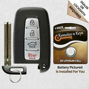 For 2012 2013 2014 Hyundai Elantra GT Equus Sonata Tuscon Smart Remote Key Fob