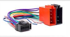CARAV 15-101 Adapterkabel Stecker universal ISO für ALPINE CDA CDE CDM Autoradio