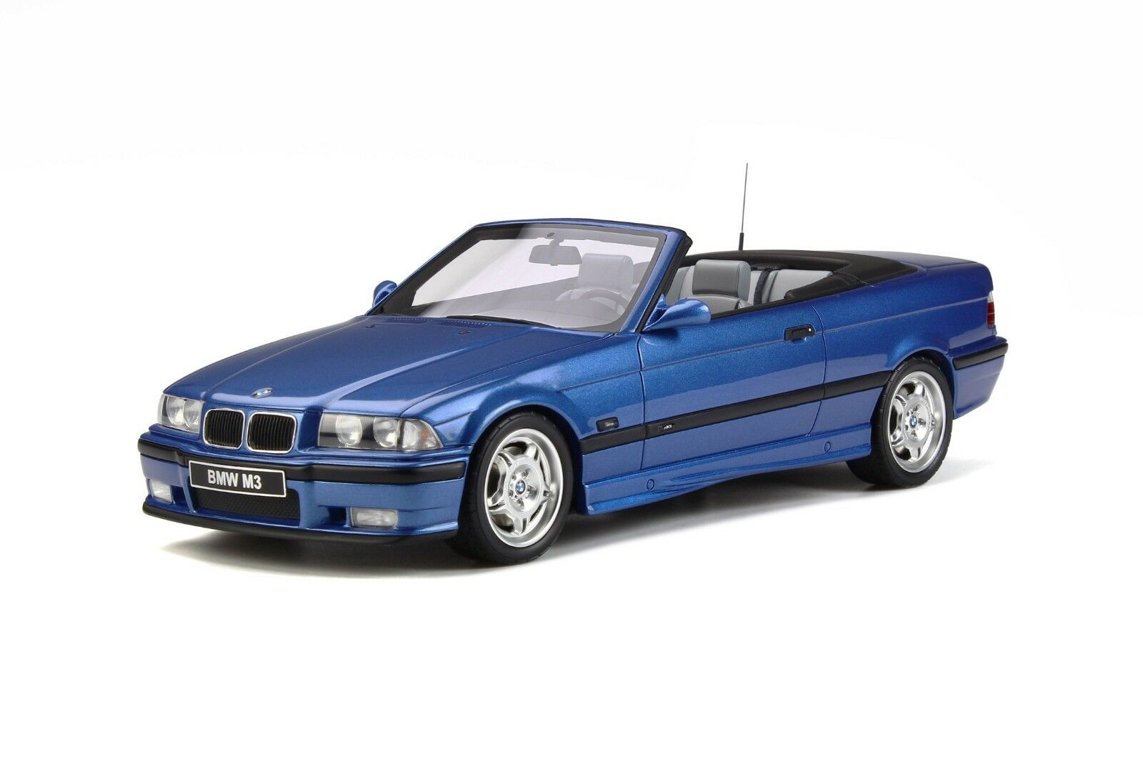 BMW M3 Evolution E36 Open Cabriolet Estoril blu Metallic 1999 Otto Mobile OT279