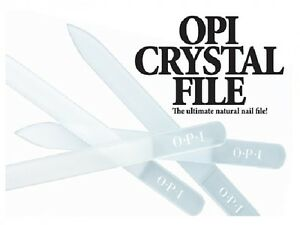 Opi Crystal Nail File Perfect For Uv Gel Polish Ebay