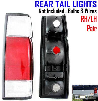 REAR TAIL LIGHT LAMP HOUSING LH/&RH for Nissan Frontier Navara D21 1986-93 Pickup