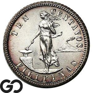 1904-Philippines-Ten-Centavos-Silver