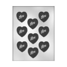 CK Products Stylized Heart Chocolate Mold