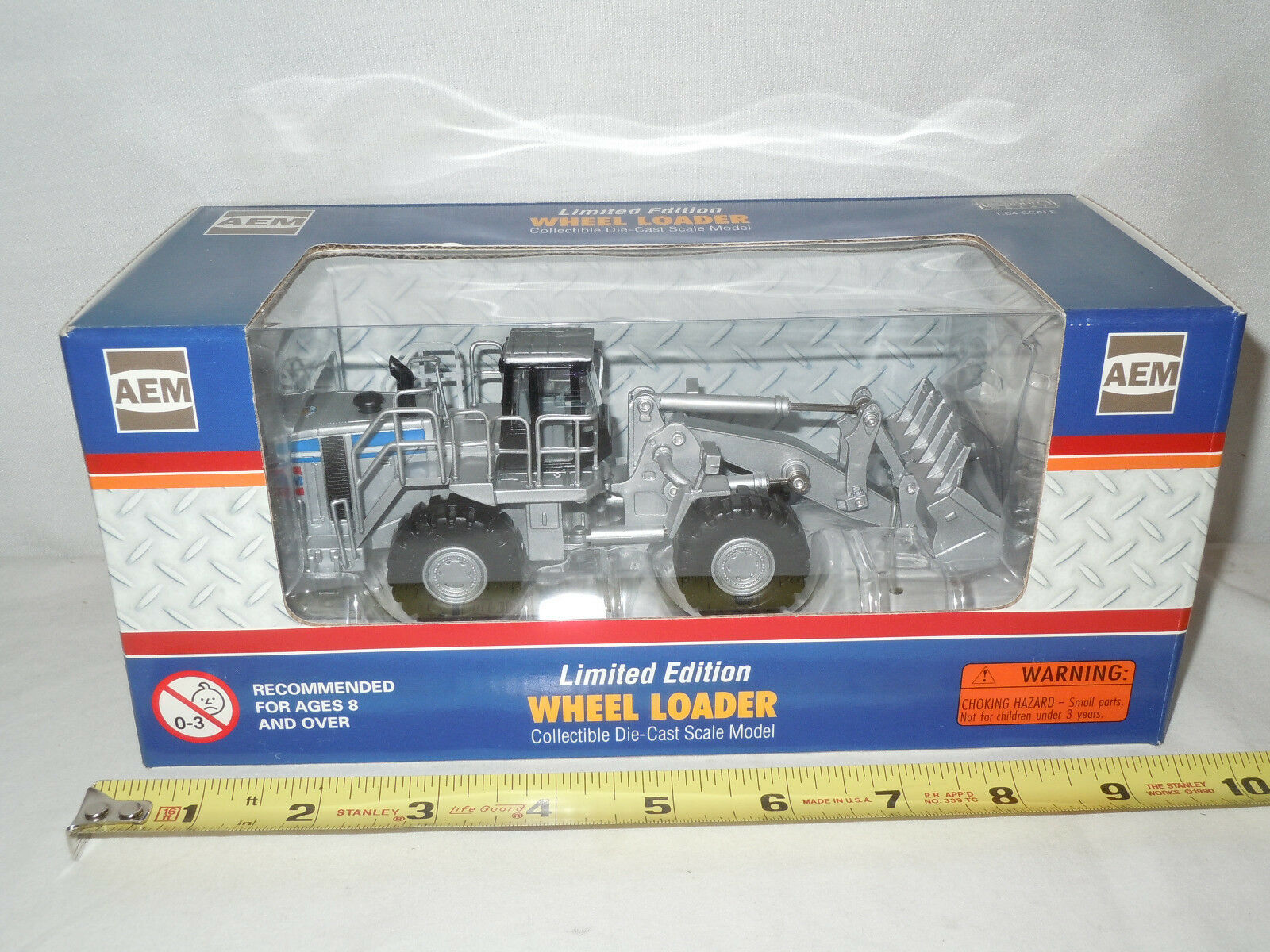 AEM Wheel Loader 2008 Conexpo Silver Edition by Norscot 1 64th Scale