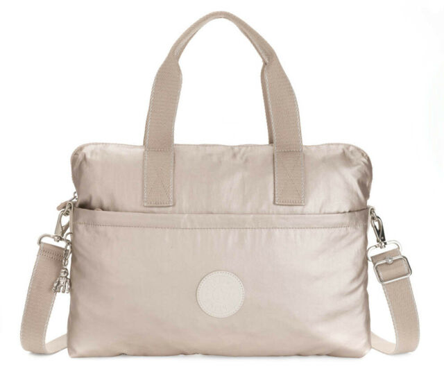 kipling Elsil Working Bag Metallic Glow