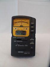 Seiko SMP 10 Guitar/Bass Tuner Digital Metronome