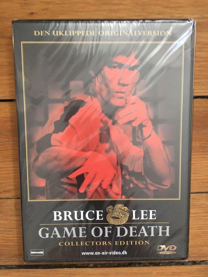 Game of death (1978 - NY, stadig i folie), instruktør Bruce