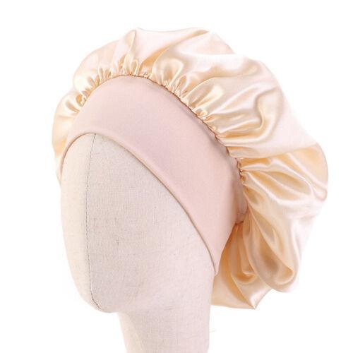 Cute Baby Cotton Headwrap Elastic Sleeping Bonnet Hair Care Turban Cap For Girls