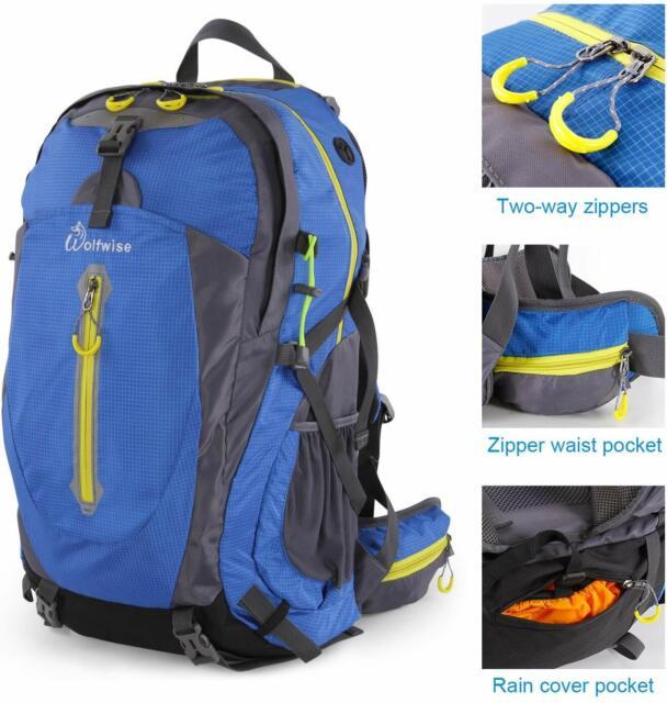 50L Ultralight Backpack Large Rucksack Camping Hiking Trekking Outdoor Bag UK