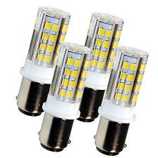 4x HQRP BA15d LED Bulb for Bernina 950, 1000, 1001, 1004, 1005, 1006, 1010, 1015